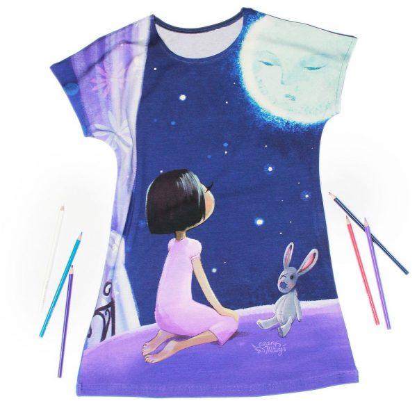 Marzenie - sukienka dziewczęca