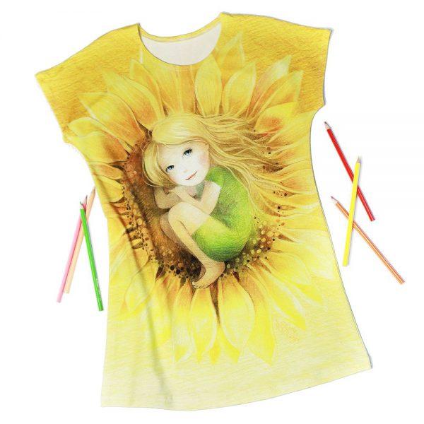 Promyk Słońca - sukienka dziewczęca