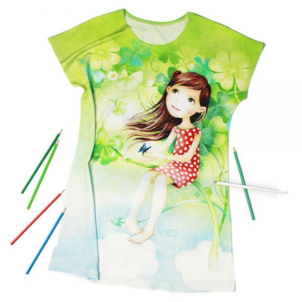 Szczęśliwa - sukienka dziewczęca